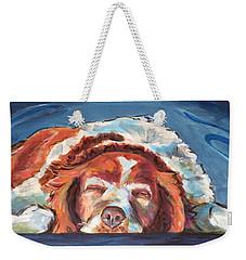 Bushed Weekender Tote Bag