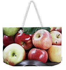 Bushel Of Apples  Weekender Tote Bag by Stephanie Frey