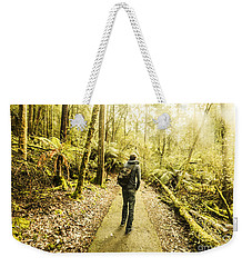 Weekender Tote Bag featuring the photograph Bushwalking Tasmania by Jorgo Photography - Wall Art Gallery