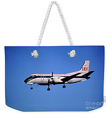Business Express, Delta Connection, N353be, Bex Saab 340b Weekender Tote Bag