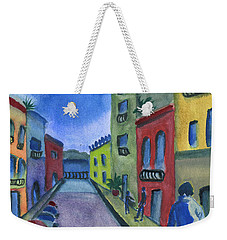 Business In Old San Juan Weekender Tote Bag