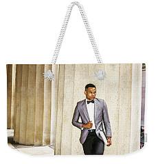Black Businessman Weekender Tote Bag