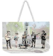 Busker Quintet Weekender Tote Bag