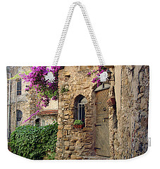 Bussana Vecchia Street Weekender Tote Bag
