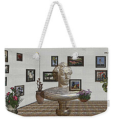 Bust Of The Spirit Of Einstein 1 Weekender Tote Bag