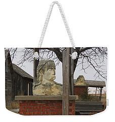 Busts In Frontier City Weekender Tote Bag