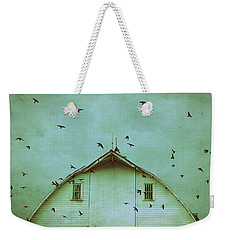 Busy Barn Weekender Tote Bag