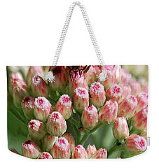 Busy Bee Weekender Tote Bag by DigiArt Diaries by Vicky B Fuller