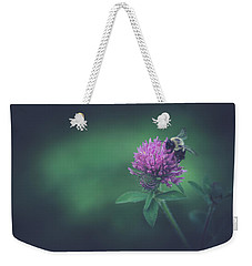Weekender Tote Bag featuring the photograph Busy by Shane Holsclaw