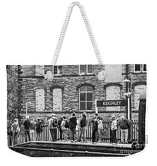 Busy Waiting Weekender Tote Bag