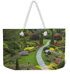 Butchart Gardens Weekender Tote Bag by Eunice Gibb