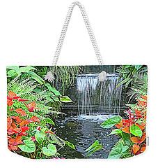 Butchart Gardens Waterfall Weekender Tote Bag