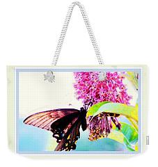 Butterfly Business Weekender Tote Bag