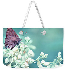 Weekender Tote Bag featuring the photograph Buterfly Dreamin' by Mark Fuller