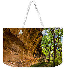 Weekender Tote Bag featuring the photograph Butler Wash Wave Formation - Blanding - Utah by Gary Whitton