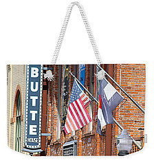 Butte Opera House In Colorado Weekender Tote Bag
