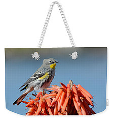 Butter Butt Weekender Tote Bag by Fraida Gutovich