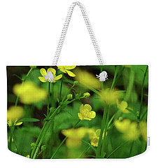 Buttercup Grouping- Vertical- Butler Creek Trail Weekender Tote Bag