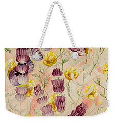 Buttercups And Lavendar Weekender Tote Bag