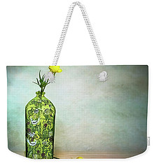 Buttercups Wildflowers In Vase Still Life Floral Weekender Tote Bag