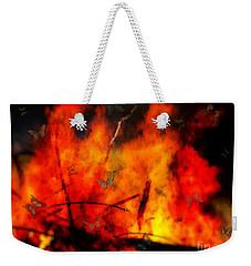 Butterflies And Flame Weekender Tote Bag
