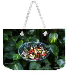 Butterflies Feeding Weekender Tote Bag