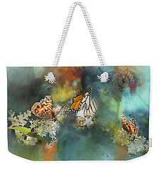 Butterflies On A Spring Day Weekender Tote Bag