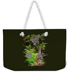 Weekender Tote Bag featuring the photograph Butterflies by Thom Zehrfeld