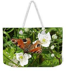 Butterflower Weekender Tote Bag