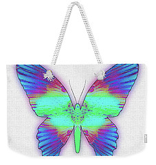 Butterfly Poise #024 Weekender Tote Bag by Barbara Tristan