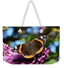Butterfly 12 Weekender Tote Bag by Jean Bernard Roussilhe