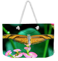 Butterfly #1983 Weekender Tote Bag by Chuck Flewelling