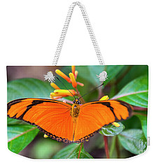 Butterfly #2017 Weekender Tote Bag by Chuck Flewelling