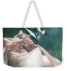 Butterfly And Ballerina Pointe Shoes Weekender Tote Bag