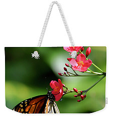 Butterfly And Blossom Weekender Tote Bag