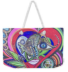 Butterfly And I Weekender Tote Bag