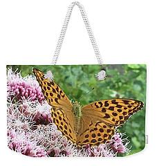 Butterfly Argynnis Paphia  Weekender Tote Bag