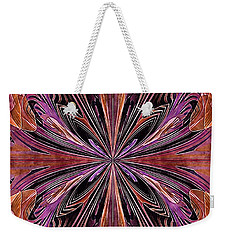 Butterfly Art Nouveau Weekender Tote Bag by Susan Maxwell Schmidt