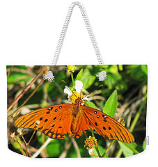Butterfly At Canaveral National Seashore Weekender Tote Bag