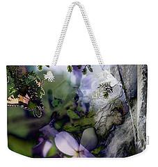 Butterfly Basket Weekender Tote Bag
