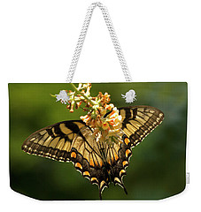 Butterfly Beauty Weekender Tote Bag by Elsa Marie Santoro