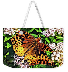 Butterfly Beauty Weekender Tote Bag