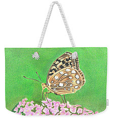 Butterfly Bush Weekender Tote Bag by Troy Levesque