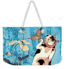 Butterfly Charmer Weekender Tote Bag