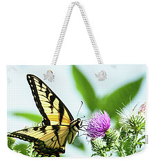 Butterfly Echo Weekender Tote Bag