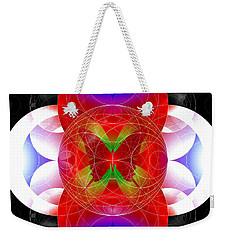 Butterfly Effect Weekender Tote Bag by Iowan Stone-Flowers