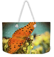 Butterfly Enjoying The Nectar Weekender Tote Bag