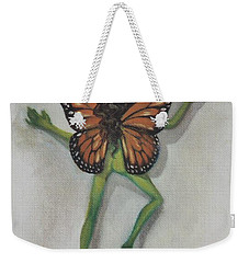 Butterfly Fairy Weekender Tote Bag