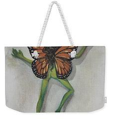Butterfly Fairy Weekender Tote Bag