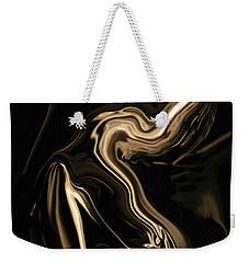 Weekender Tote Bag featuring the digital art Butterfly Girl by Rabi Khan